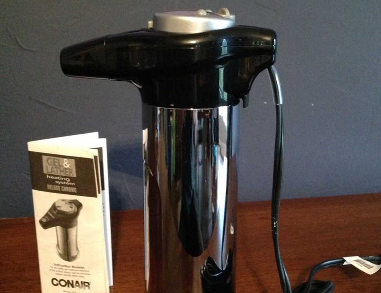 Heated Shaving Cream Dispenser