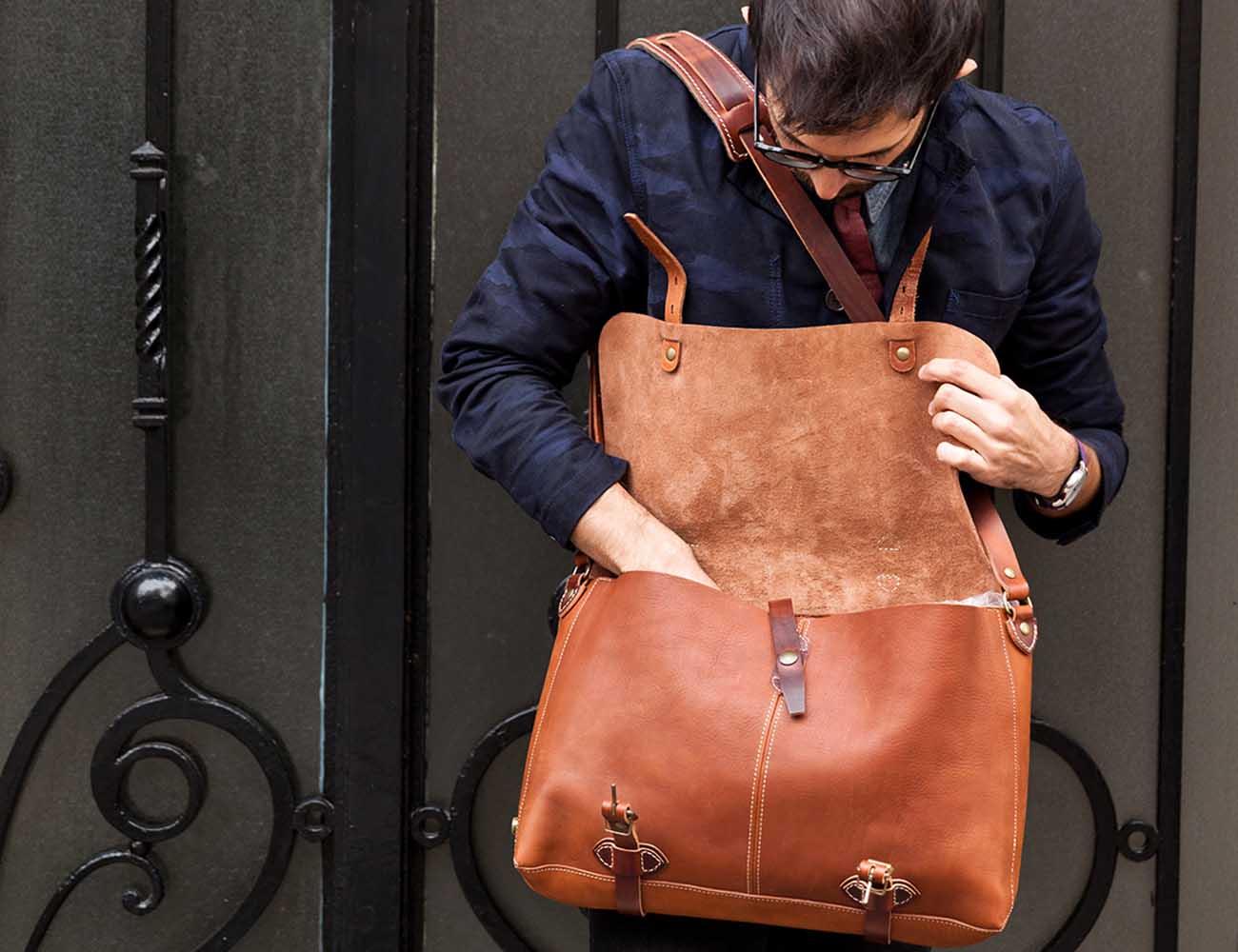 Justin Plumber Bag by Bleu de Chauffe