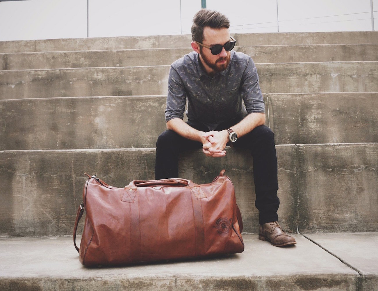 Leather Duffle by Johnny Fly – Sophisticated Design for Your Weekend Trips
