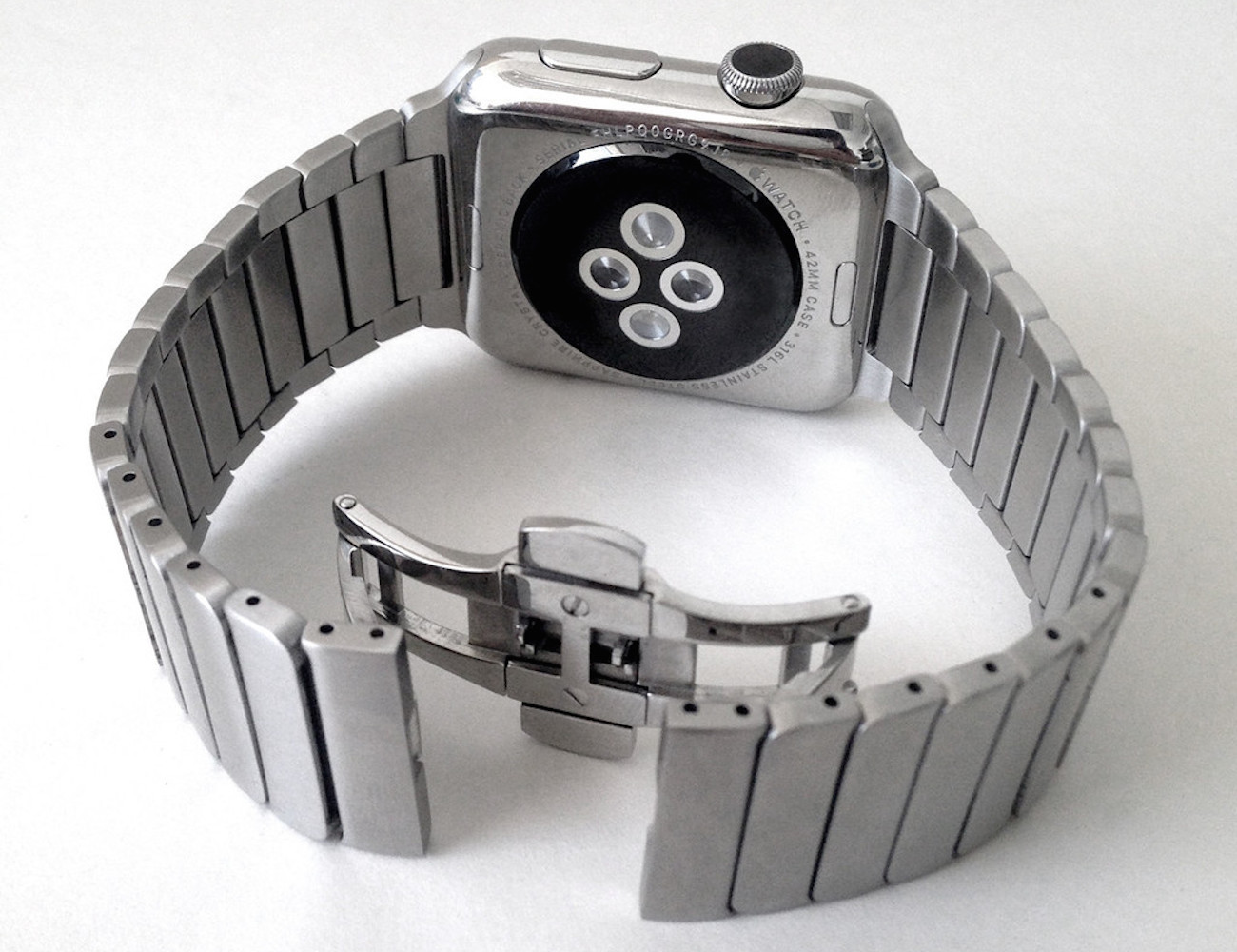 Link Bracelet Stainless Steel Strap Band