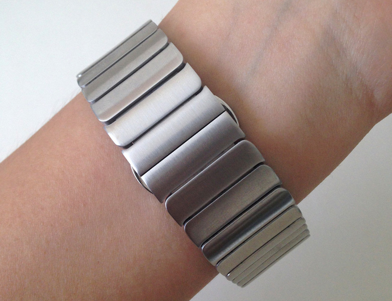 Link Bracelet Stainless Steel Strap Band