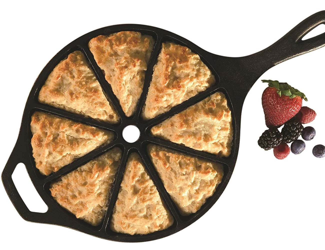 Lodge Logic Cornbread Skillet – Pre-seasoned and Pre-sectioned