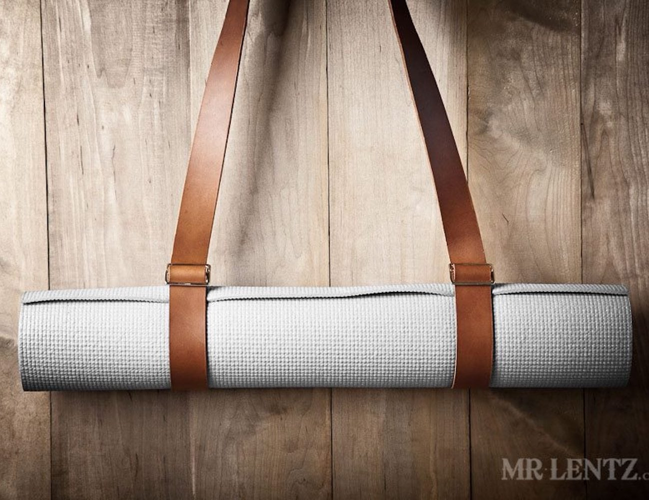 Mr. Lentz Leather Yoga Mat Strap