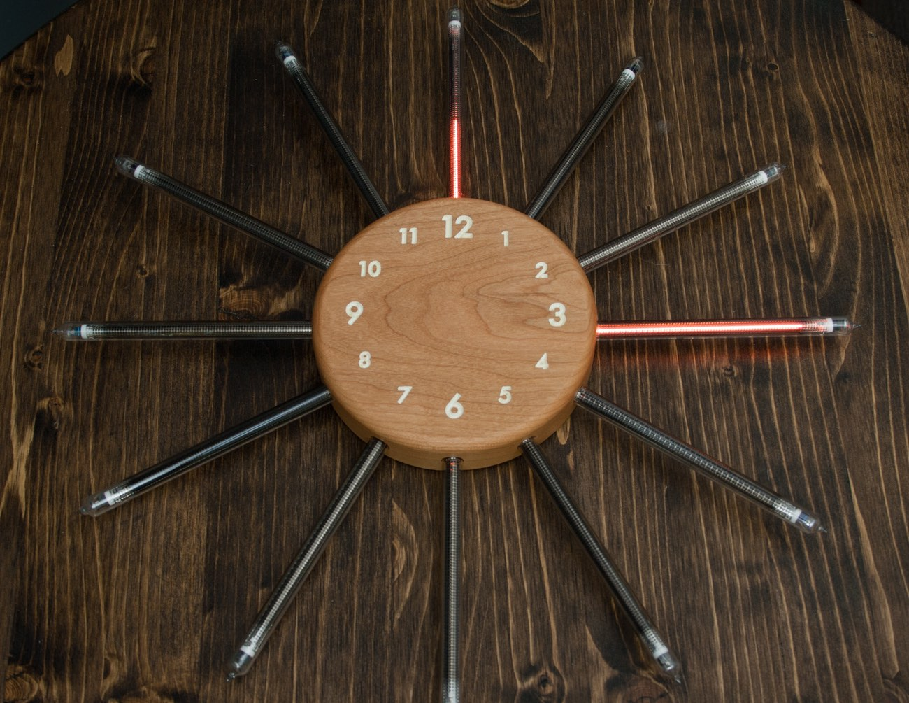 Nixie Radian – Analog Tube Clock