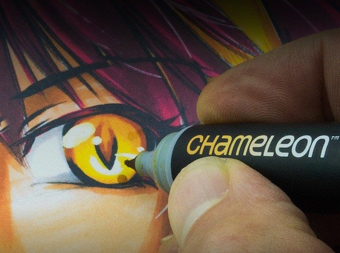 One Pen Blends Multiple Color Tones