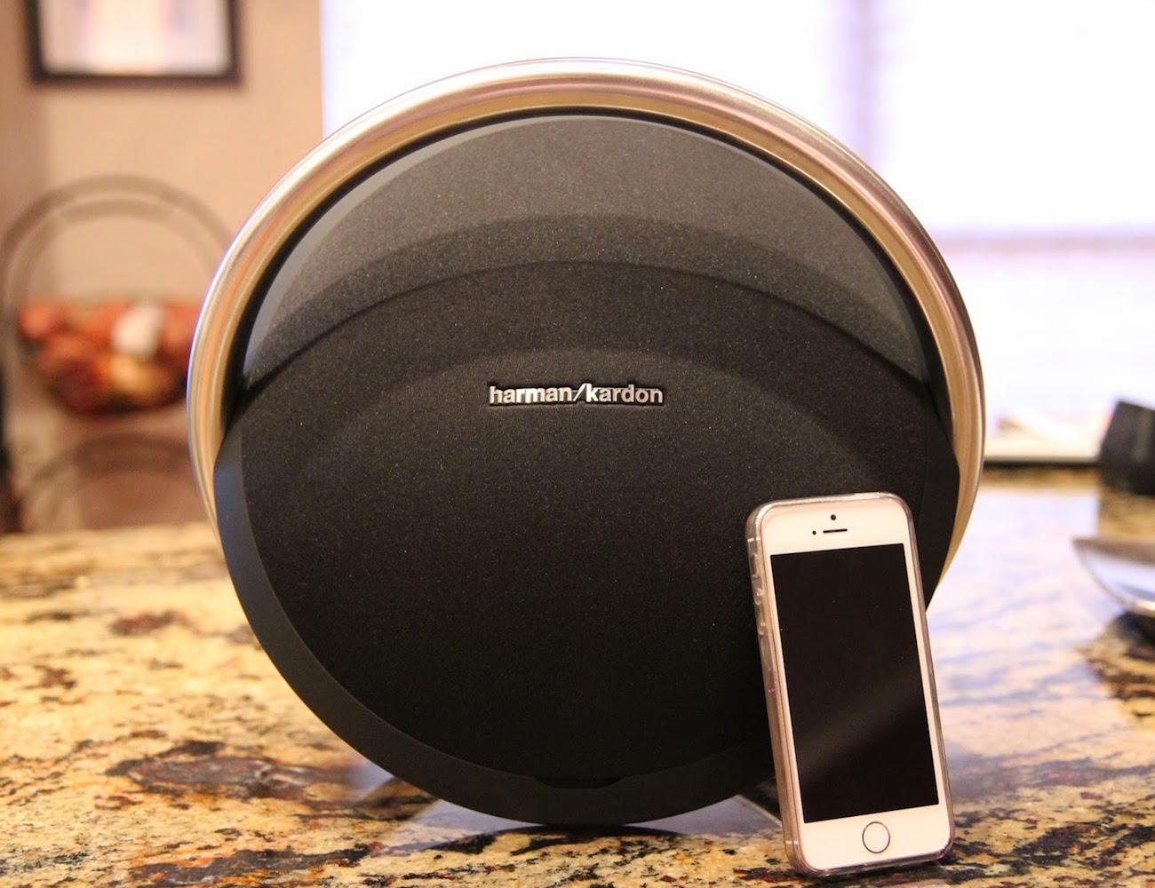 onyx studio portable wireless bluetooth speaker by harman. Black Bedroom Furniture Sets. Home Design Ideas