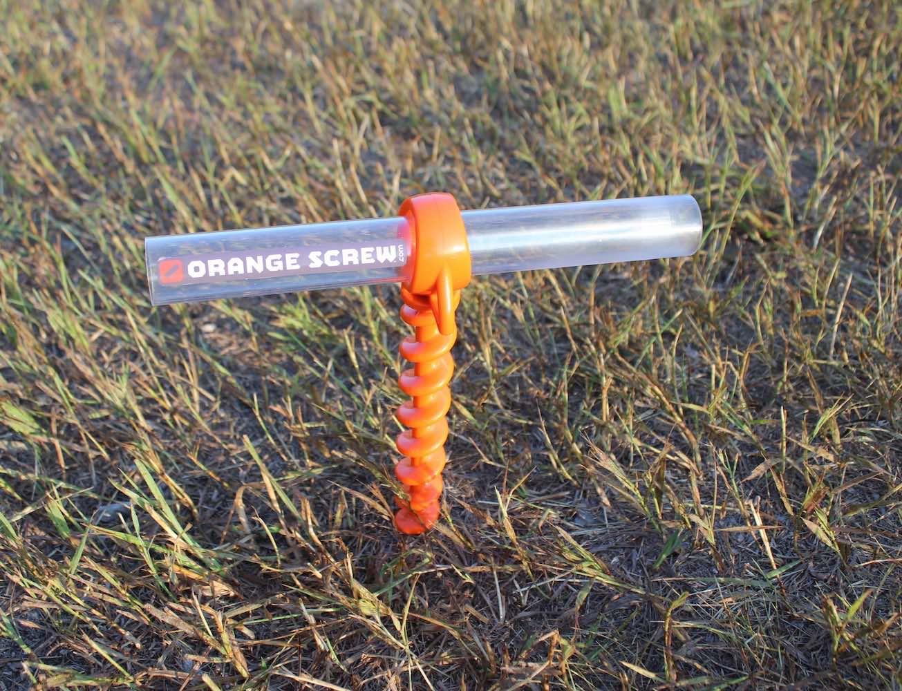 Orange Screw – The Ultimate Ground Anchor
