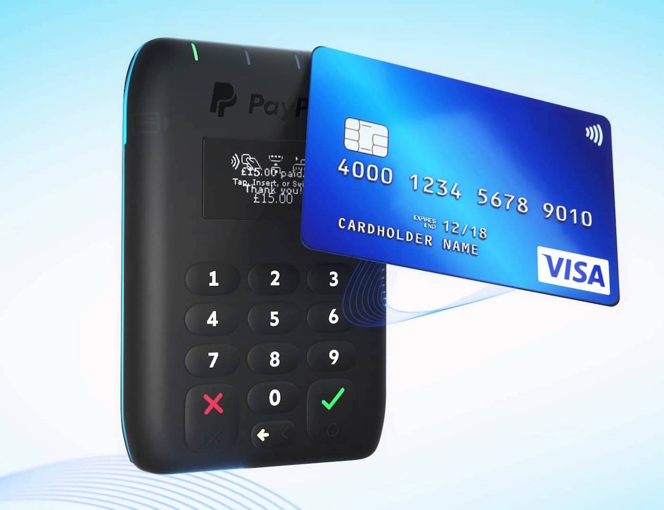 Paypal Mobile Card Reader >> Paypal Here - Mobile Card Reader » Gadget Flow