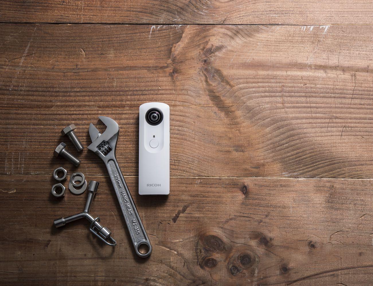 Ricoh Theta S - 360-Degree Spherical Digital Camera