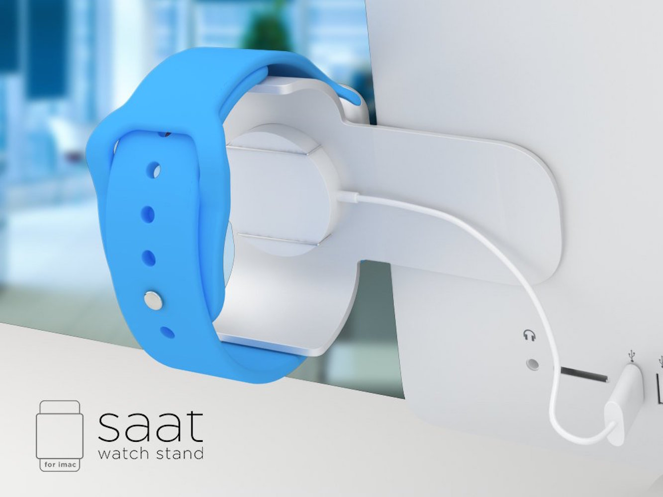 Apple Watch Stand for iMac by Saat