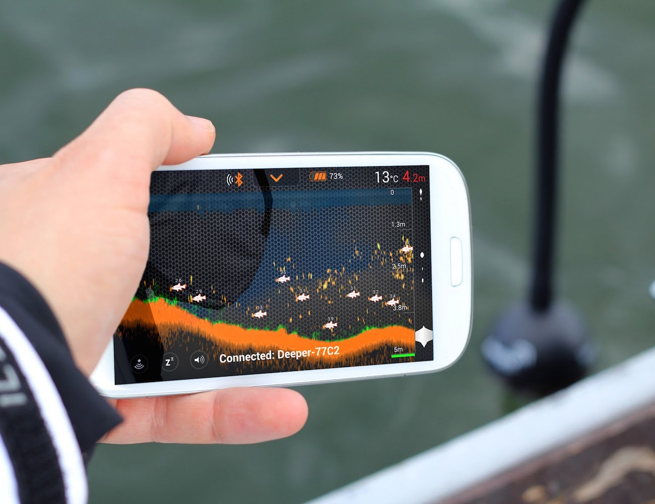 Smart Portable Fish Finder by Deeper