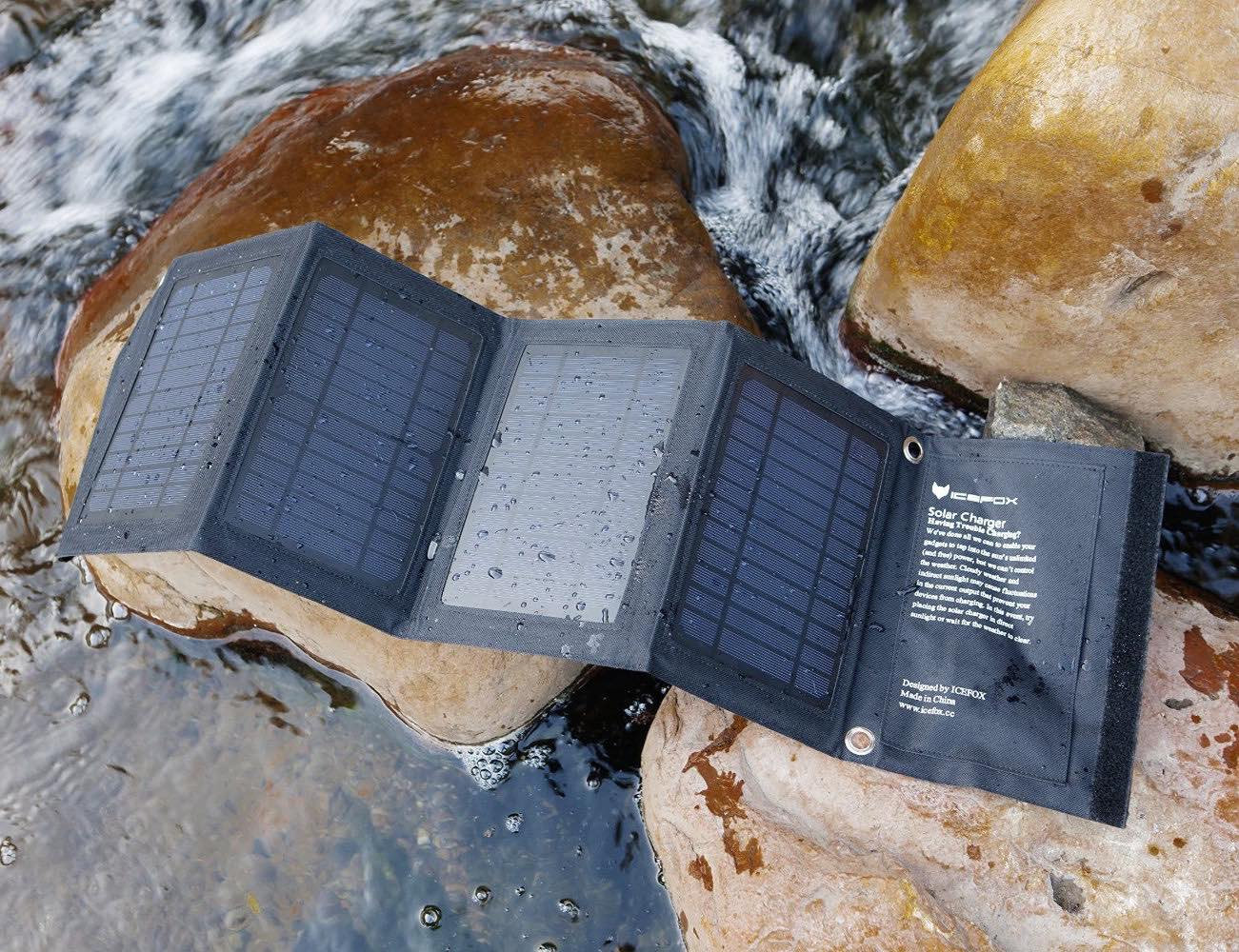 Solar Phone Charger by icefox – Compact Design That is Highly Portable
