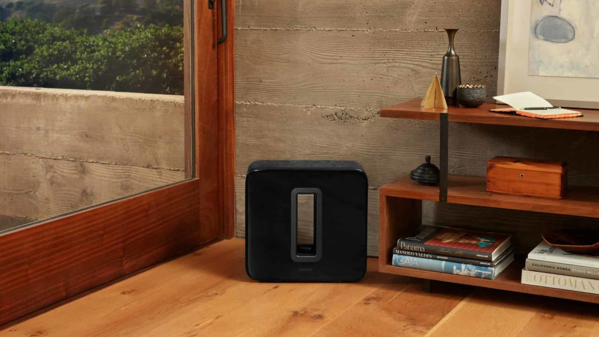 Sonos Sub Gen 3 Wireless Subwoofer works with the rest of your Sonos sound system