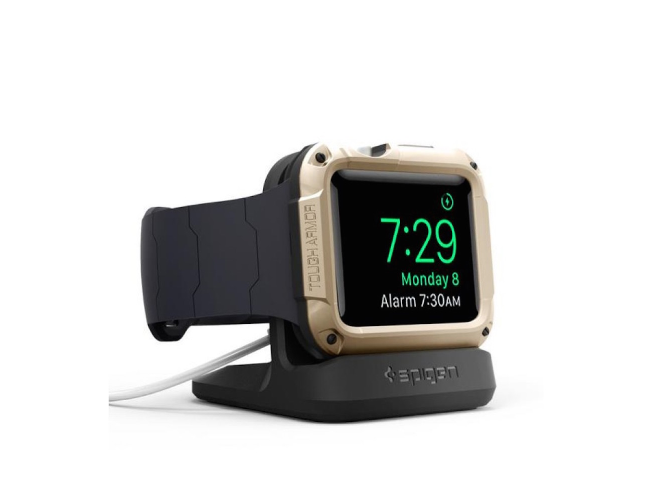 Spigen's S350 Apple Watch Stand – Made Entirely of Scratch-Free TPU