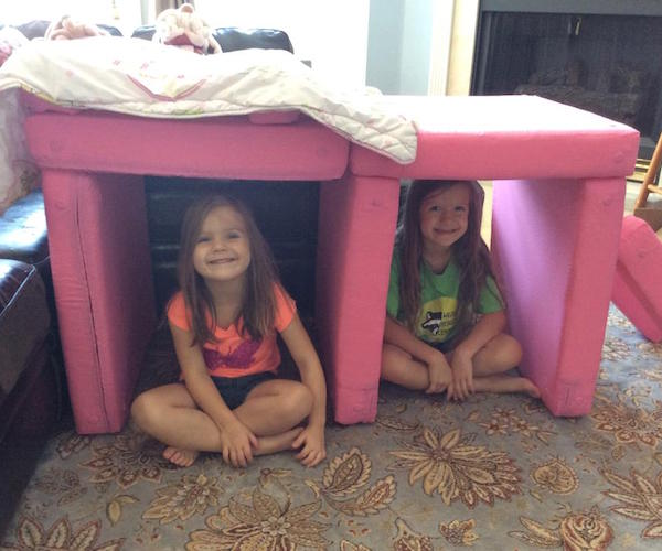 Squishy Forts – Pillow Fort Ottoman