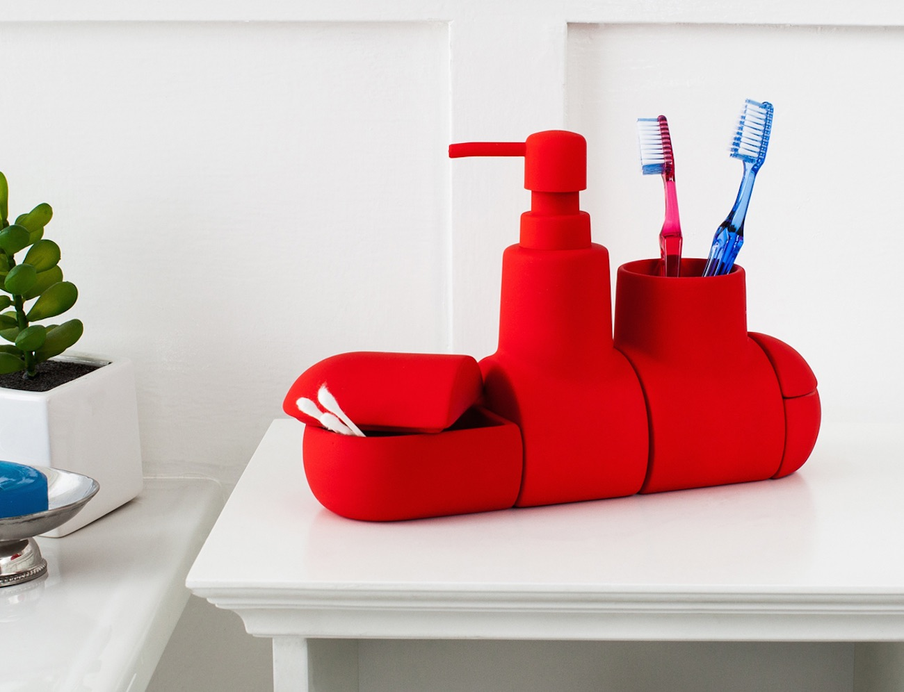 Submarino Bathroom Set by Hector Serrano for Seletti