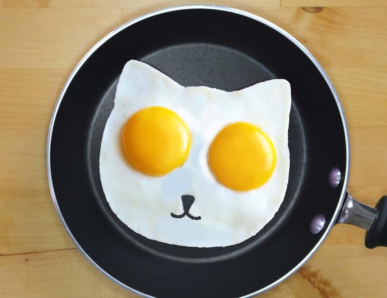 Sunny Side Up Eggs – Cat Egg Mold