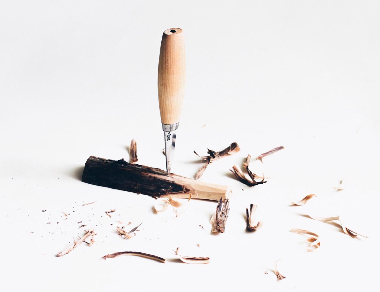 Tälja – Swedish Woodcarving Kit