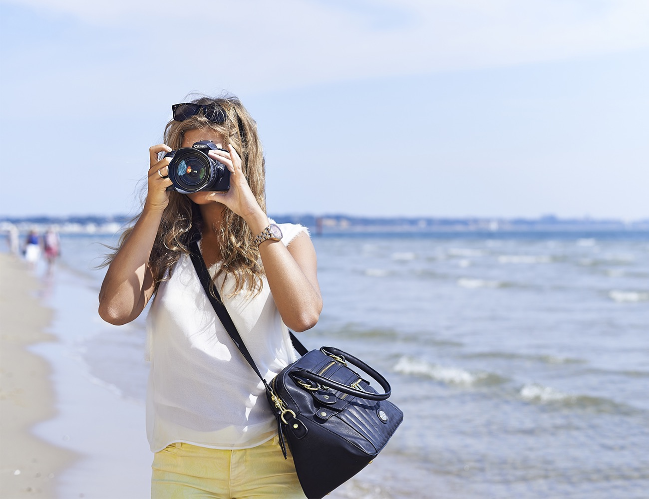 The Hampton Camera Bag by Mooli London