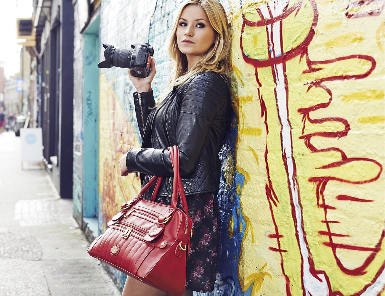 The Hampton Camera Bag by Mooli London