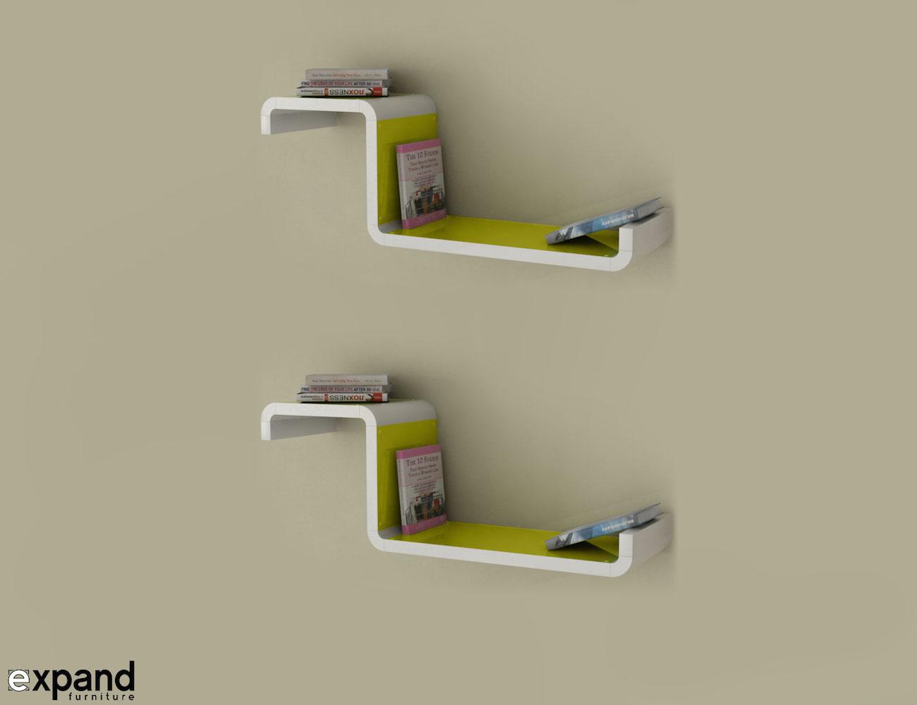 Unique Modular Shelving Series