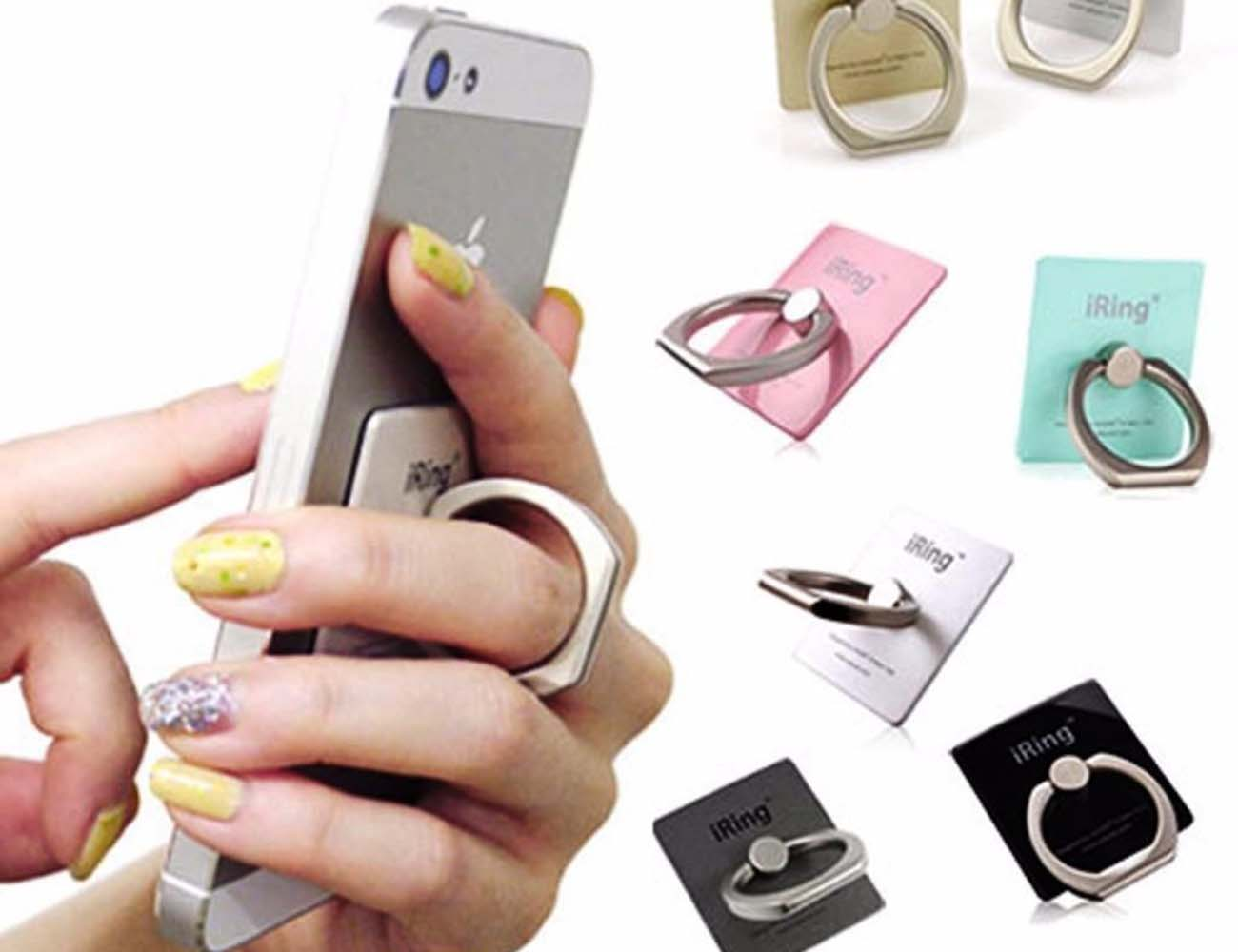 Universal Smart Ring iPhone Holder by iRing