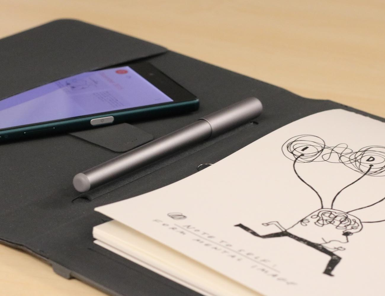 Wacom Bamboo Spark – Take Notes From Paper to Cloud