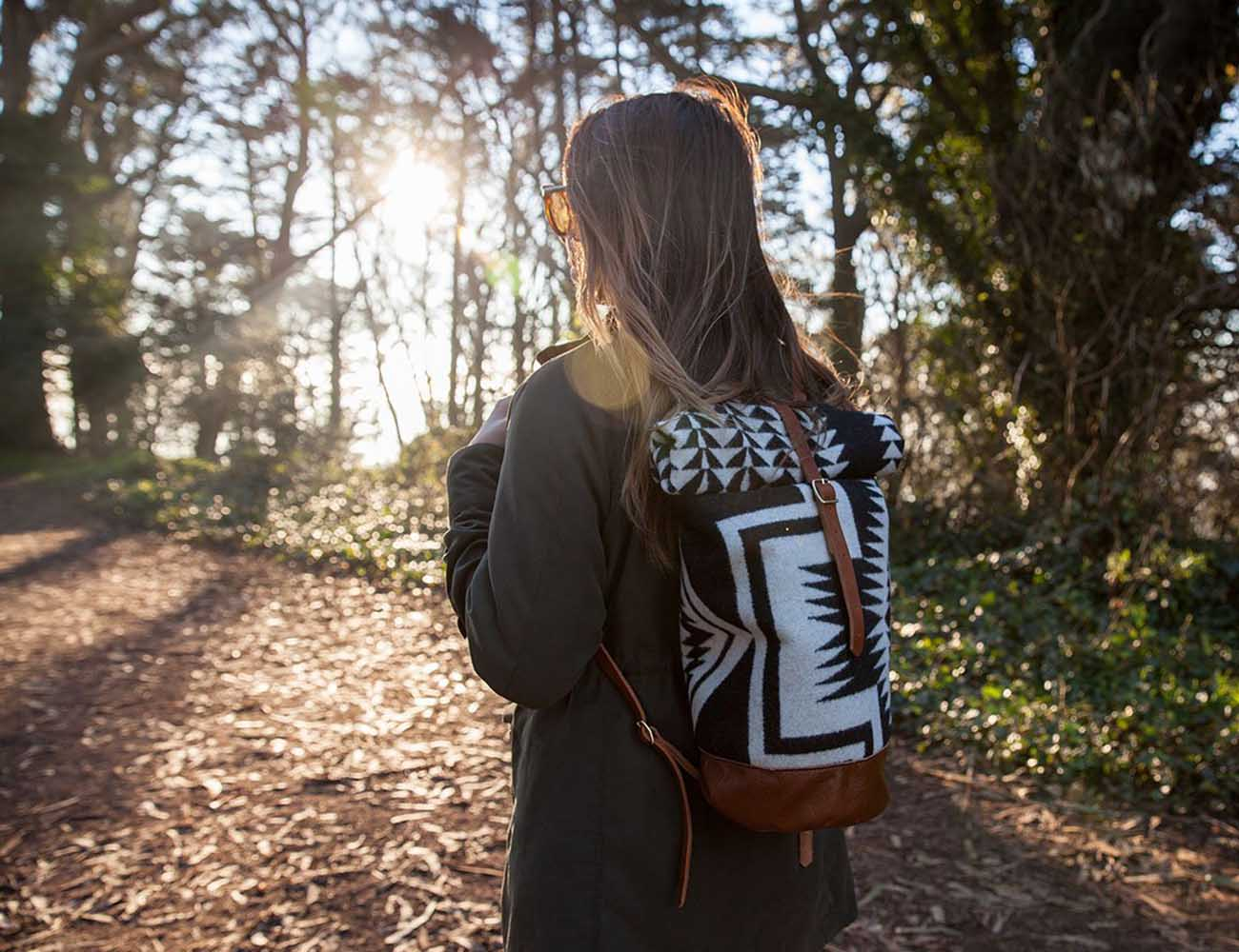 Walking Rock Rolltop Backpack by Future Glory Co.