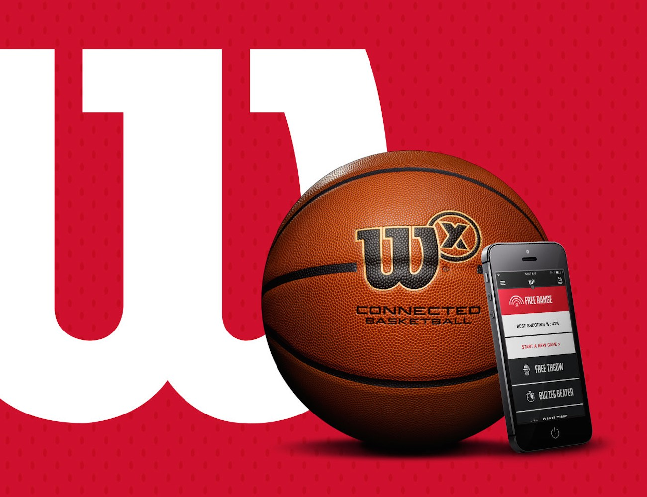 Wilson X Connected Basketball – Track Your Shooting Stats From Your Phone