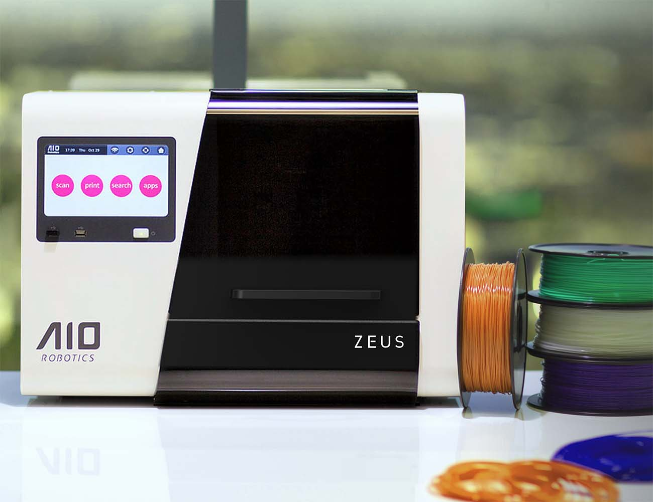 Zeus All-In-One 3D Printer by AIO Robotics