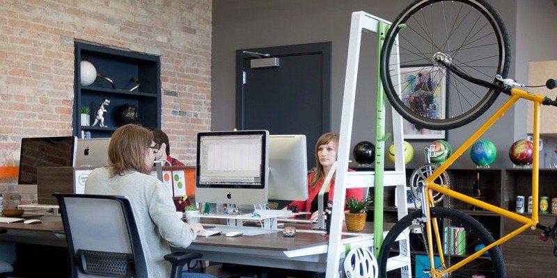 Bivi office desk system