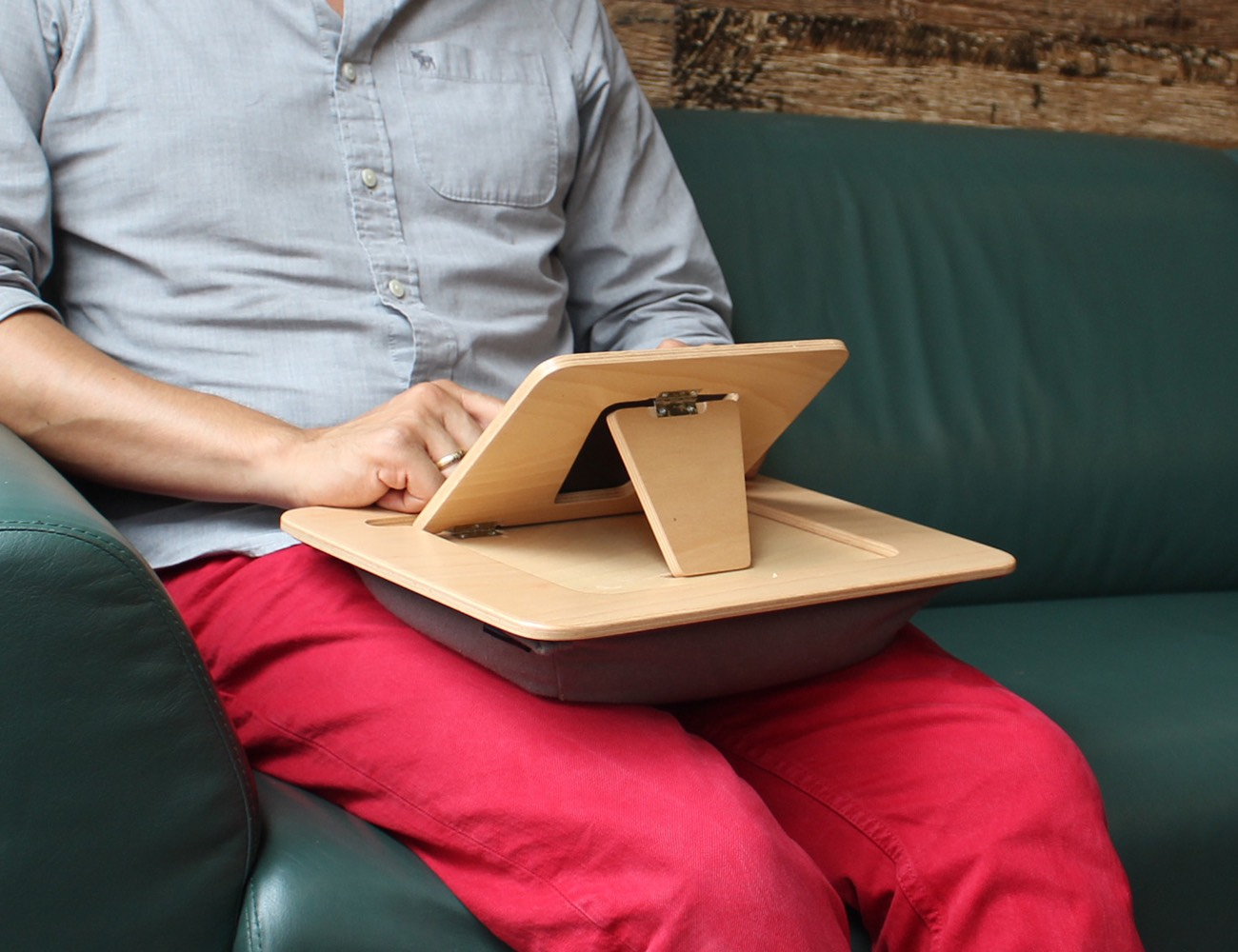 Padtopper – 3-in-1 Ergonomic Lapdesk