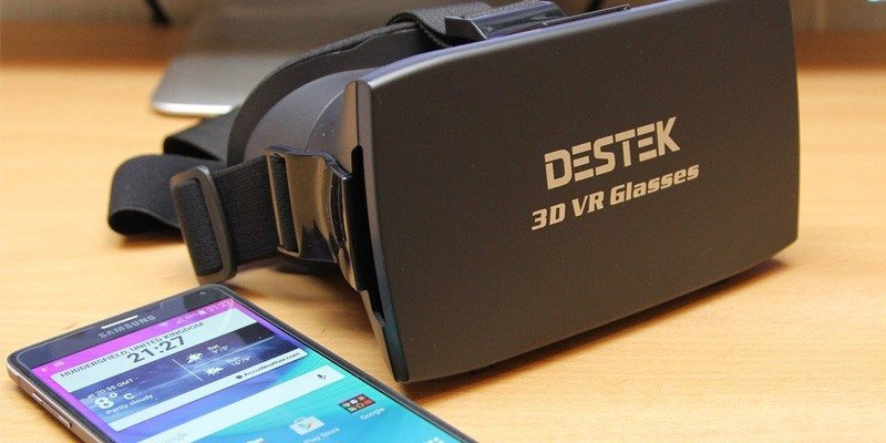 3D VR Virtual Reality Headset by DESTEK
