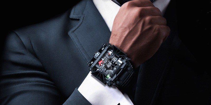 Darth Vader Inspired Watch
