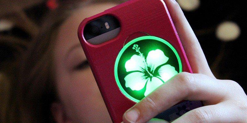 Illuminating iPhone Cases by Illumicase