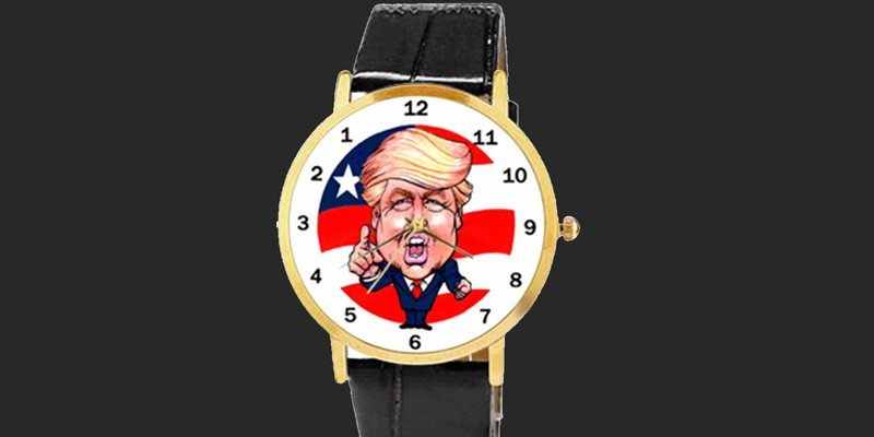 The Trump Backwards Running Watch