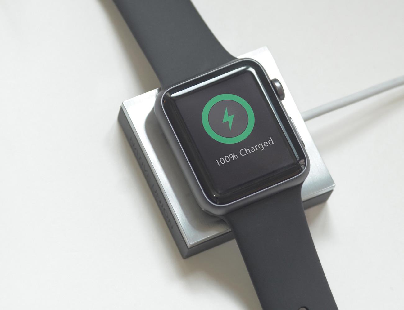 ANCHOR – Charging Pad for Apple Watch by Native Union