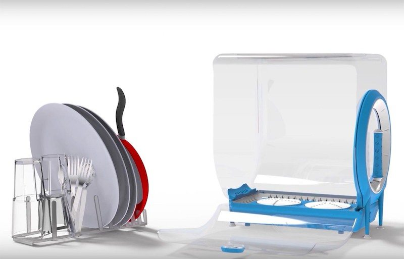 Circo dishwasher with dishes