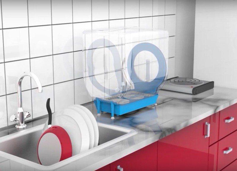 Circo dishwasher next to sink
