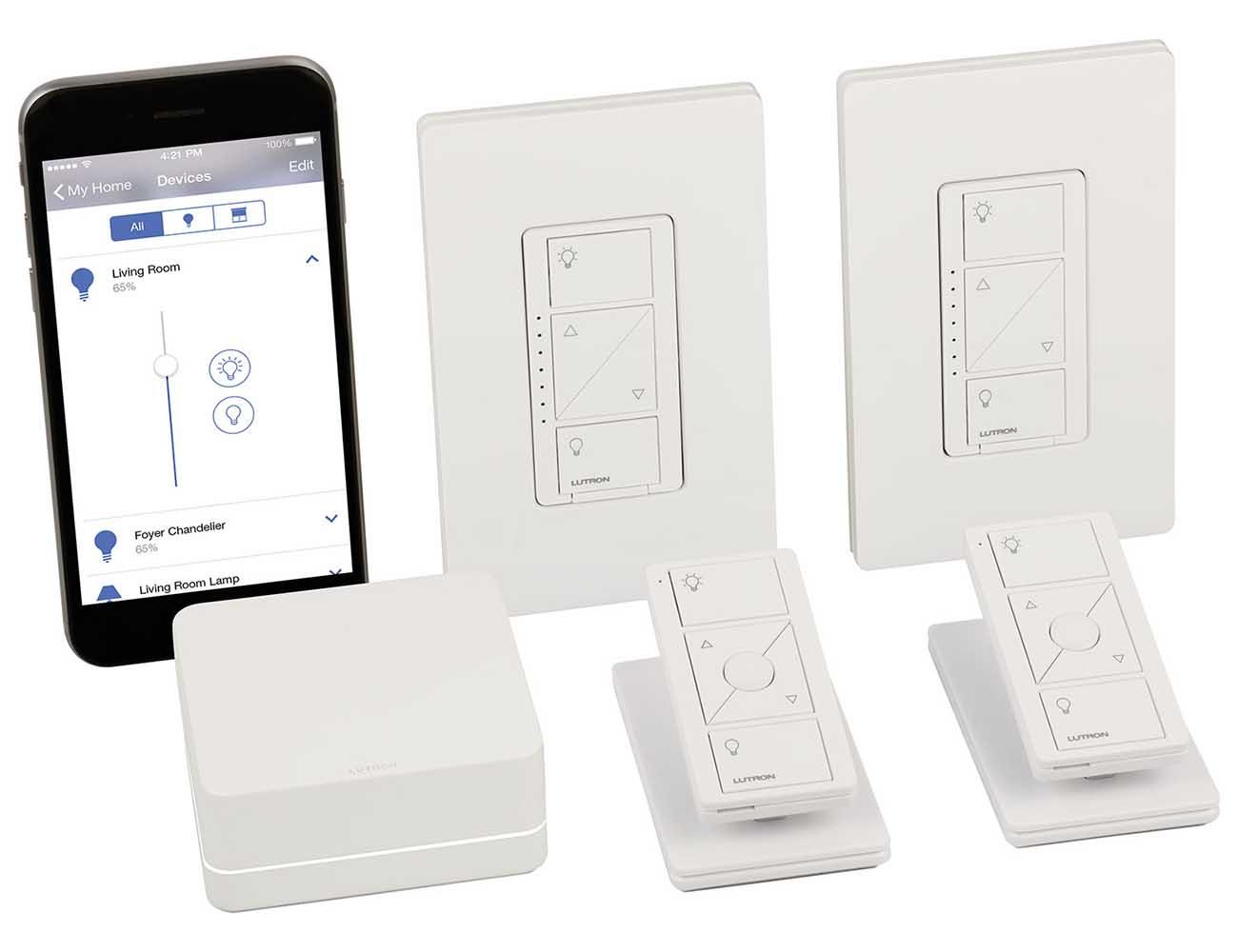 Caséta Wireless – App-Enabled Smart Bridge by Lutron