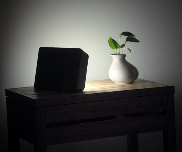 Concrete Brick Lamp – Portable LED Lamp from HCWD Studio