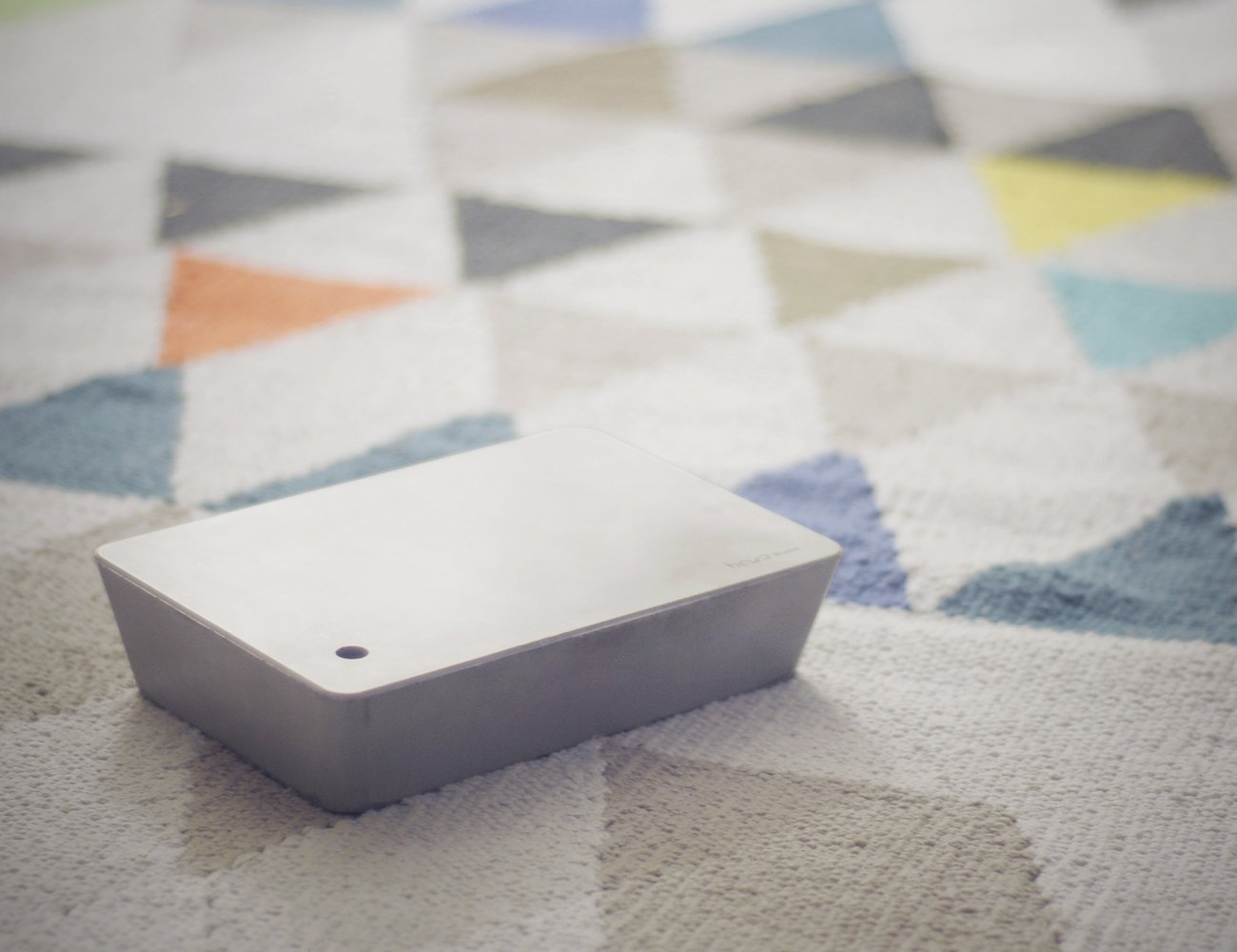 Concrete Brick Lamp – Portable LED Lamp from HCWD Studio