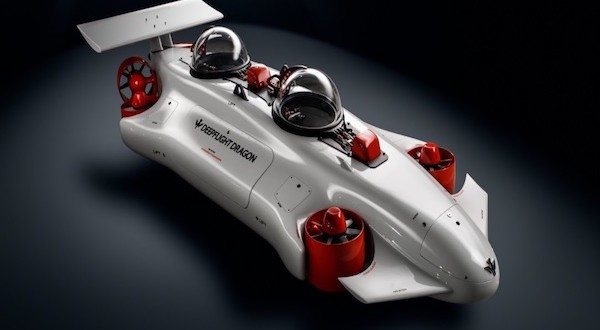 DeepFlight Dragon: Explore the Ocean With Your Own Personal Submarine