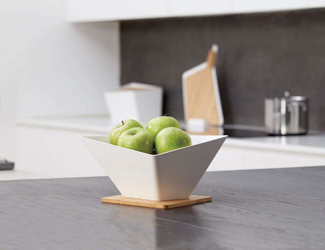 Draining Fruit Bowl by black+blum
