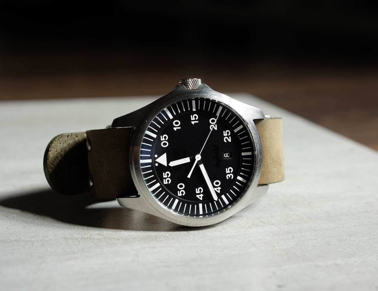 EO-2 – The Pilot Watch Powered By You