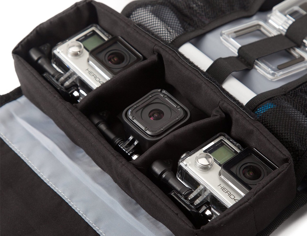 GPTC-23 Trekcase by GoPole – Weather Resistant Roll-Up Case for GoPro Cameras loading=