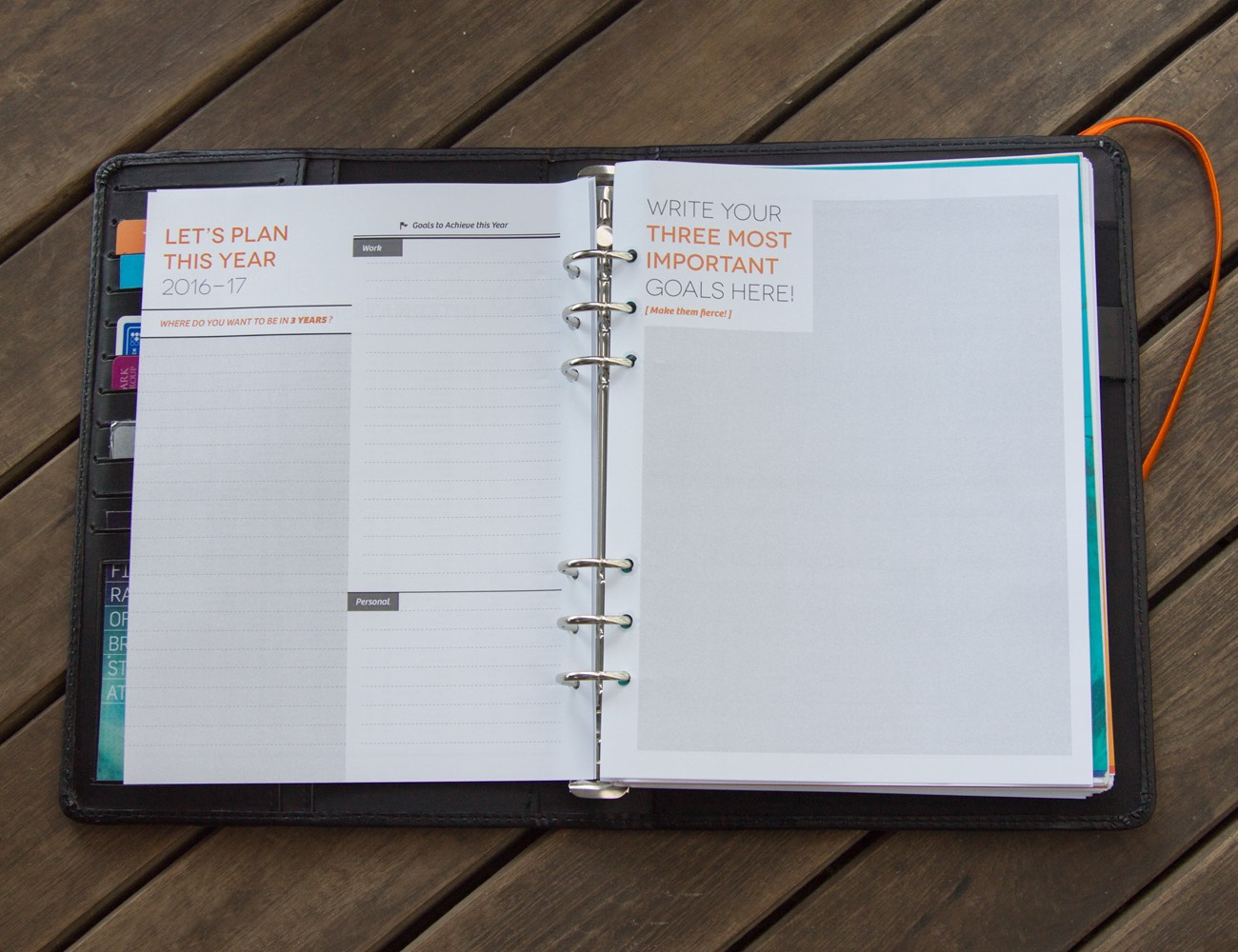 Goal-based Productivity Planner