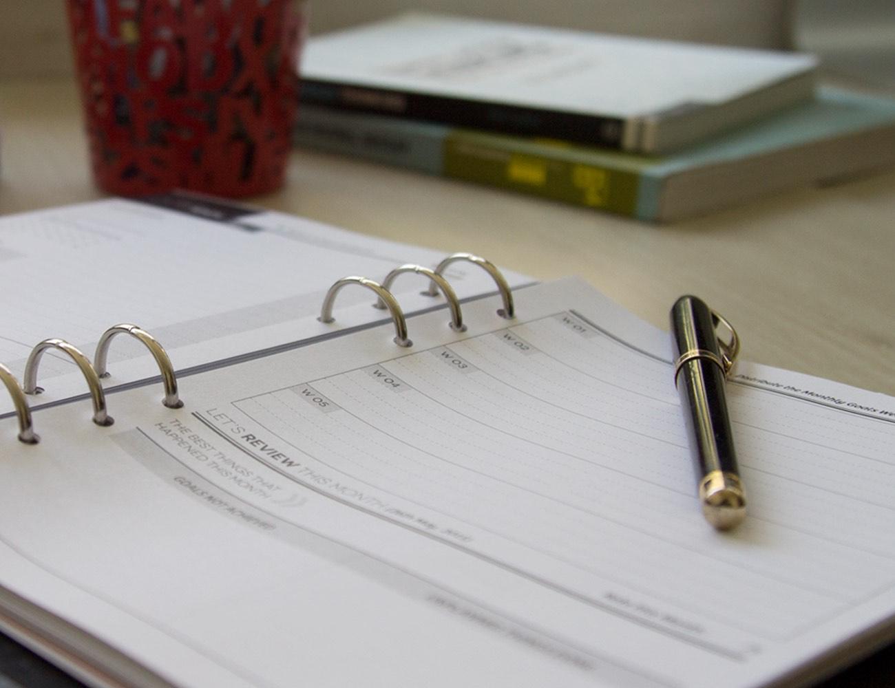 Goal-based Productivity Planner