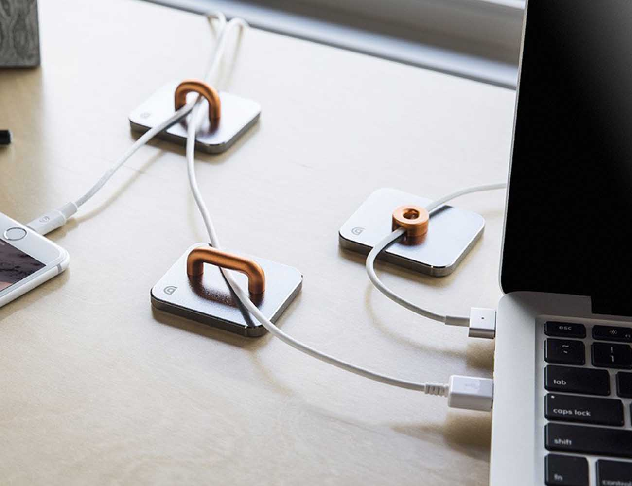 Guide Cable Management System by Griffin – With Magnetic Cable Anchors