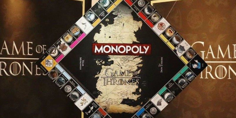 Game of Thrones Collector's Edition Monopoly